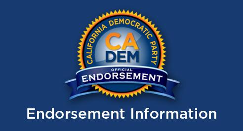 CA Dems Endorsement