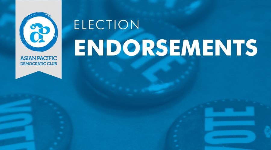 Nov 8, 2016 Election Endorsements