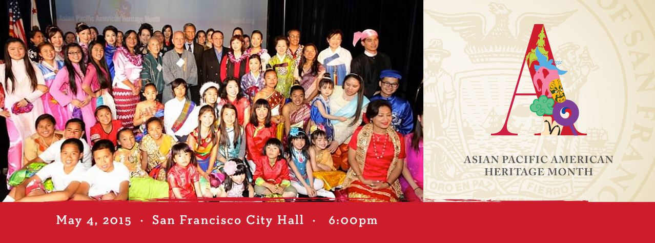 5/4: Asian Pacific American Heritage Month (San Francisco)