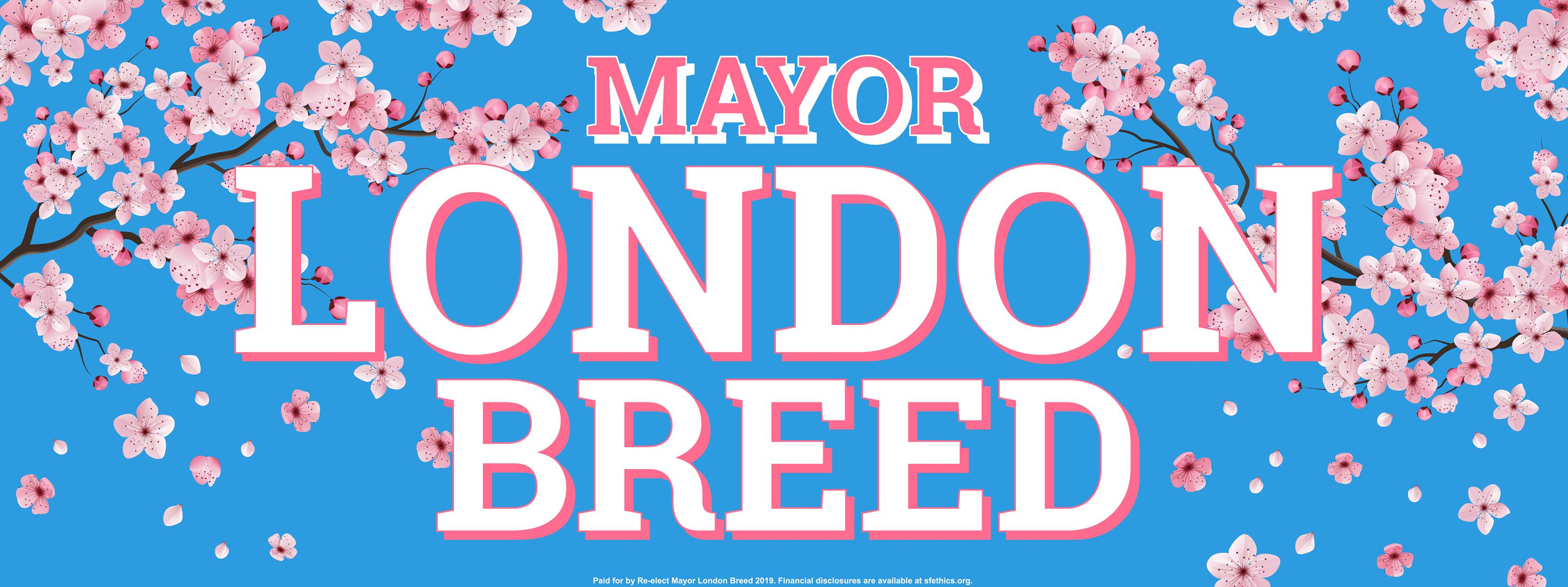 4/21: Join Mayor London Breed in the Cherry Blossom Festival Parade
