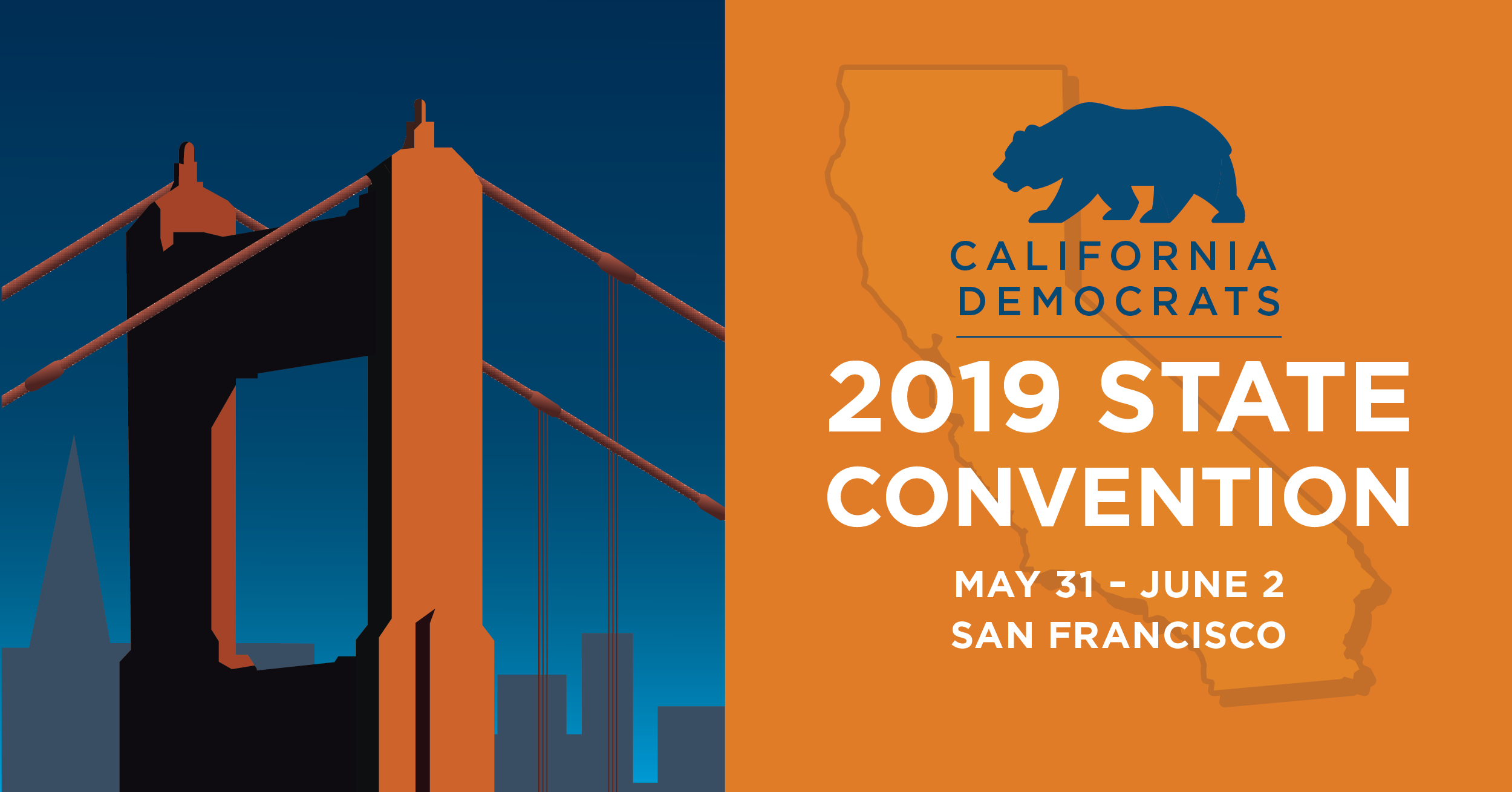 CA Dem Party Convention 2019
