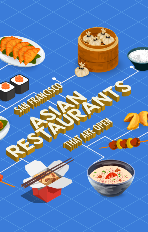San Francisco Asian Restaurants That Are Open