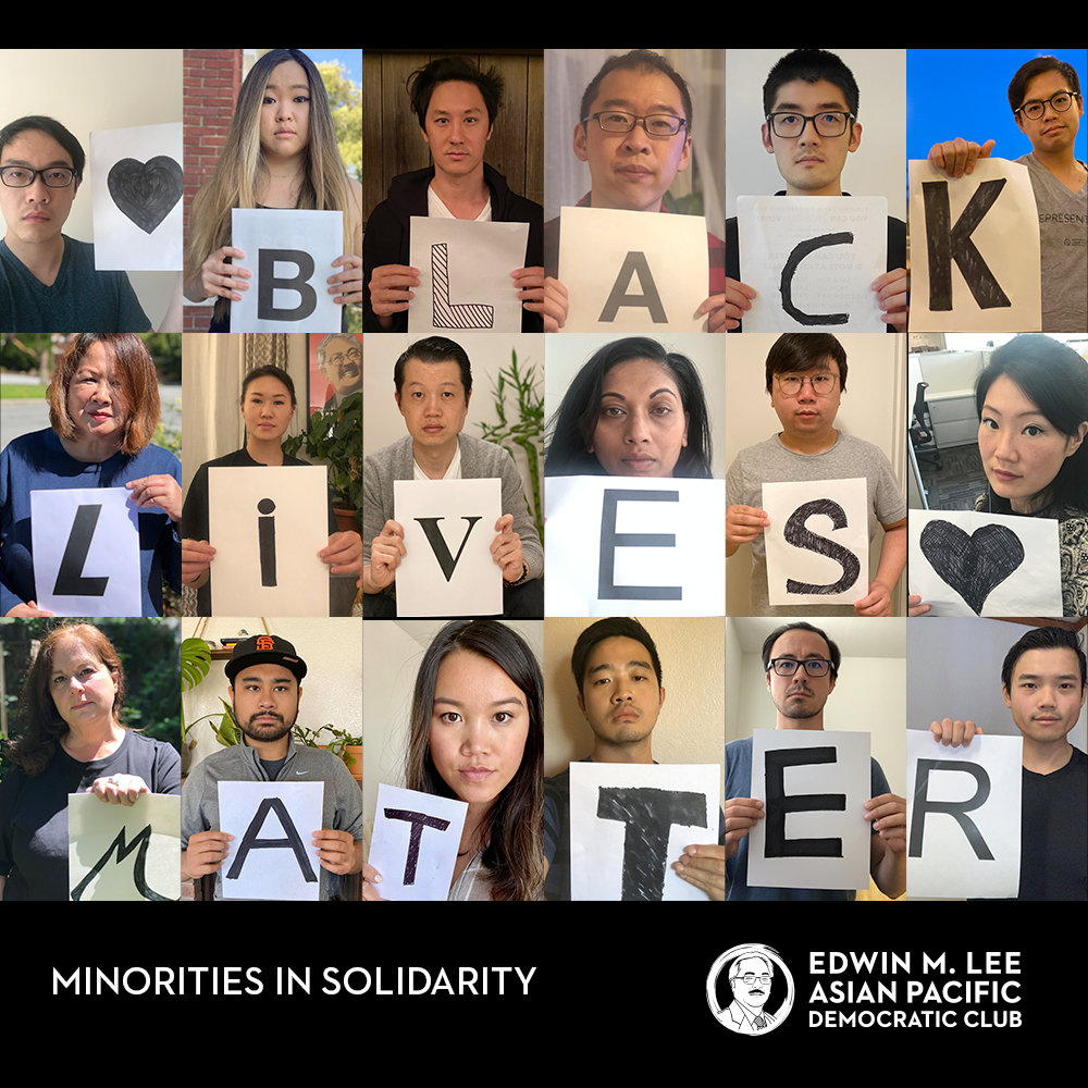 Asian Americans Call for Solidarity with Black Lives Matter