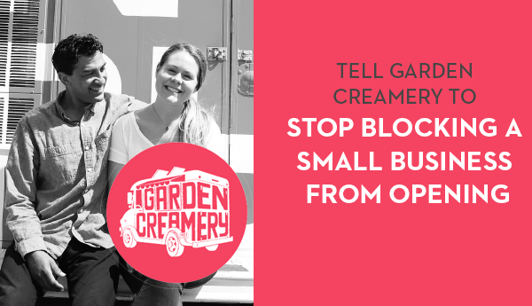 Garden Creamery Blocks Asian Business from Opening