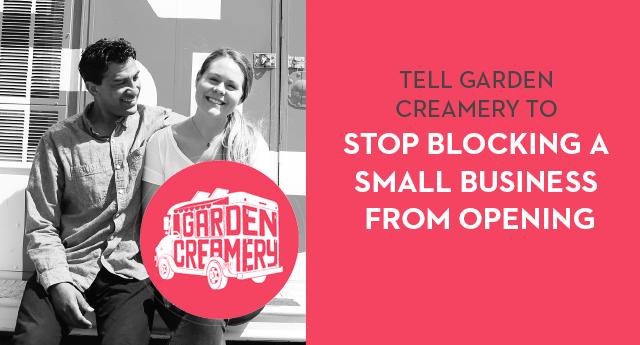 Garden Creamery Blocks Asian Business from Opening