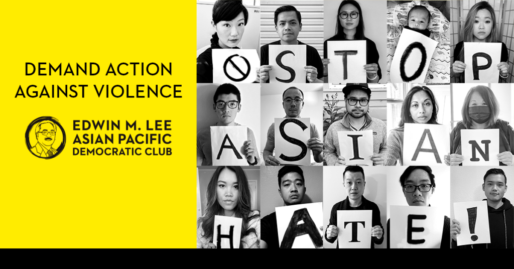 Demand Action Against Violence Stop Asian Hate