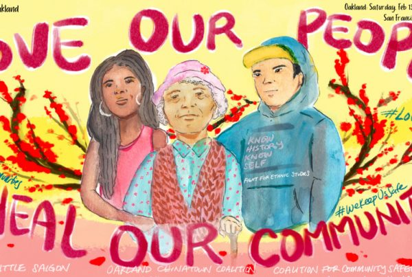 """""""Love Our People, Heal Our Communities"""" Cross-Cultural Healing Events took place in Oakland and San Francisco"""