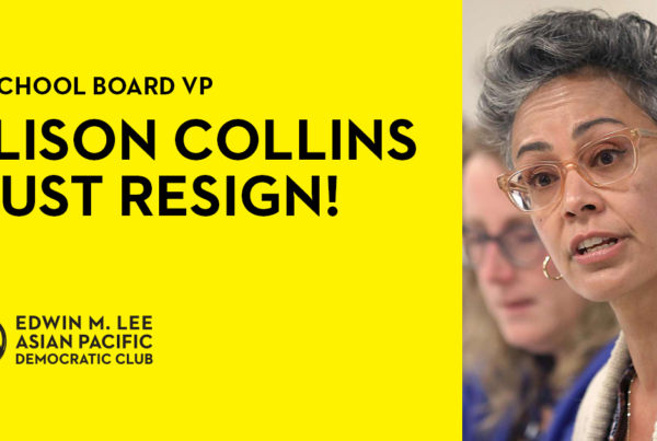 Alison Collins Must Resign!